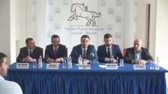 Prezentarea candidaților Partidului Puterii Umaniste - social liberal (PPU-sl) la primăriile de sector