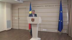 Declarațiile lui Mihai Ghimpu în timpul Ședinței Parlamentului Republicii Moldova din 14 aprilie 2016