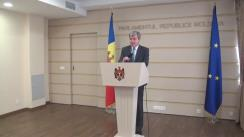 Declarațiile lui Eugen Carpov în timpul Ședinței Parlamentului Republicii Moldova din 14 aprilie 2016