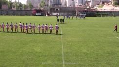 Meciul de Rugby între CS Dinamo București - CS Politehnica Unirea Iași. Cupa României 2016