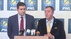 Conferința de presă susținută de Cezar Preda, vicepreședinte PNL, și Dan Cristian Popescu, candidat la Primăria Sector 2
