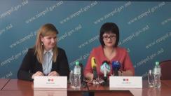 Briefing de presă organizat de Ministerul Muncii, Protecției Sociale și Familiei privind indexarea pensiilor