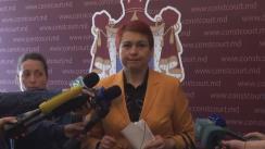 Declarațiile Raisei Apolschi și ale lui Igor Vremea, după ședința  Curții Constituționale, din 18 aprilie 2016