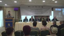 """Conferința de încheiere a proiectului """"Model de bune practici în domeniul serviciilor de asistență acordate victimelor traficului de persoane"""""""