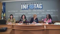 """Conferință de presă organizată de Clubul Internațional al Femeilor din Moldova cu tema """"Ediția a XII-a a expoziției anuale cu vânzări în scopuri caritabile - Seara de Artă"""""""
