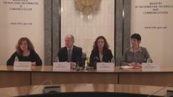 Conferință de presă cu ocazia lansării Moldova ICT Summit 2016