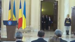 Declarație de presă comună a Președintelui României, Klaus Iohannis și a Președintelui Ucrainei, Petro Poroșenko