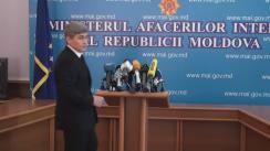 Conferință de presă organizată de Ministerul Afacerilor Interne privind asigurarea ordinii publice la mitingul ce se va desfășura în capitală, duminică, 24 aprilie