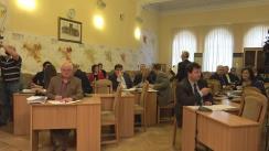 Ședința săptămânală a serviciilor primăriei Chișinău din 25 aprilie 2016