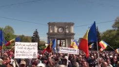 """Protestul organizat de Platforma Civică """"Demnitate și Adevăr"""" din 24 aprilie 2016"""