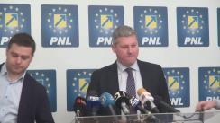 Conferință de presă susținută de Cătălin Predoiu și Ciprian Ciucu