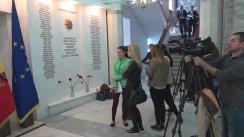 Conferință de presă susținută de ministrul Afacerilor Interne, Alexandru Jizdan, privind incidentele din cadrul protestului care a avut loc la 24 aprilie, în capitală