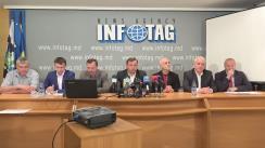 """Conferință de presă organizată de Consiliul Marii Adunări Naționale cu tema """"Acțiunea de protest din 24 aprilie 2016 și acțiunile populare ulterioare"""""""