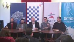 Conferință de presă comună M10 București, 200 pentru București, Noua Republică, PACT și UCDR