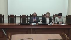 Conferință de presă organizată de Ministerul Sănătății cu privire la alimentația copiilor din instituțiile școlare și preșcolare