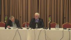 """Prezentarea publică a rezultatelor cercetărilor efectuate în cadrul proiectului """"Evaluarea activității polițienești și reformelor Ministerului Afacerilor Interne. Percepții interne și externe"""""""