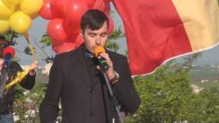 Acțiune dedicată Zilei Tricolorului organizată de Partidul Liberal