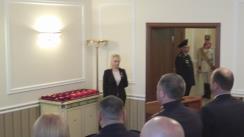 Președintele Nicolae Timofti înmânează distincții unui grup de cetățeni