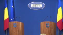 Conferință de presă după ședința Guvernului României din 27 aprilie 2016