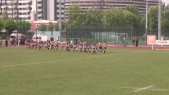 Meciul de Rugby între CS Universitatea Cluj - CSM Olimpia București. Cupa României 2016