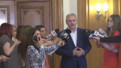 Declarațiile lui Liviu Dragnea după Comitetul Executiv Național al PSD din 27 aprilie 2016