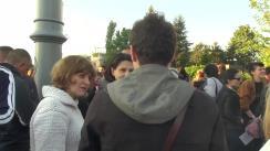 Protest de susținere a ministrului Culturii, Vlad Alexandrescu