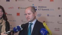 Declarațiile lui Vitalie Tarlev după conferința privind drepturile și libertățile fundamentale ale utilizatorilor de internet din Republica Moldova