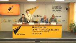 """Conferința de presă cu tema """"Cum este cinstită în Moldova memoria eroilor căzuți în Marele Război pentru Apărarea Patriei?"""""""