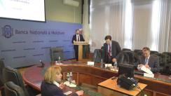 """Conferință de presă organizată de Banca Națională a Moldovei cu tema """"Raportul asupra inflației"""""""