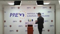 Conferință de presă organizată de PPEM cu ocazia prezentării inițiativei legislative privind deoffshorizarea sectorului public din Republica Moldova