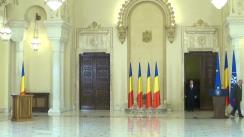 Ceremonie de depunere a jurământului de învestitură a doamnei Corina Șuteu în funcția de Ministru al Culturii