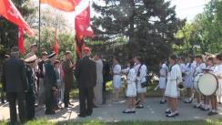 Marșul organizat de Partidul Comuniștilor din Republica Moldova