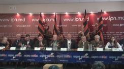 """Conferință de presă susținută de liderul PSRM, Igor Dodon, și reprezentanții societății civile cu tema """"Agenda Zilei de 9 Mai"""""""