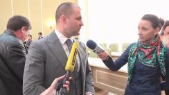 Declarațiile lui Vladimir Cebotari după consultarea publică a proiectului Strategiei de Dezvoltare a Serviciului Penitenciar din Republica Moldova pentru perioada 2016 - 2020
