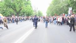 Marșul Victoriei organizat de Partidul Socialiștilor din Republica Moldova