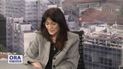 """Emisiunea """"Ora de veghe"""" cu Nicoleta Savin"""
