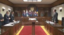 Ședința Curții Constituționale a Moldovei: individualizarea sancțiunii metrologiei