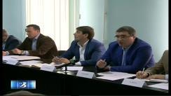 Ședința consiliului de urbanism al municipiului Bălți, cu participarea primarului Renato Usatîi