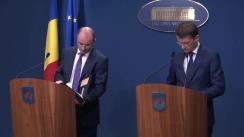 Conferință de presă după ședința Guvernului României din 11 mai 2016
