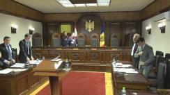 Ședința Curții Constituționale: Tratament diferențiat între deponenți pe durata moratoriului instituit de BNM