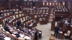 Ședința Parlamentului Republicii Moldova din 13 mai 2016