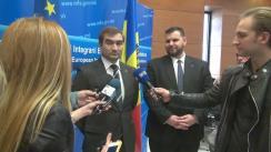 Declarații de presă cu ocazia celei de-a doua reuniunea a Consiliului Consultativ Mass-Media România-Republica Moldova
