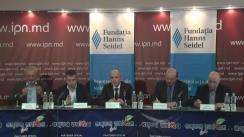 """Dezbateri publice cu tema """"Europenismul guvernării și societății moldovenești: responsabilități, afinități și deosebiri în diferite perioade ale guvernării pro-europene"""""""