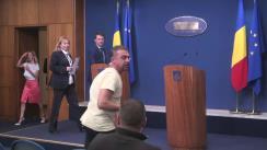 Conferință de presă după ședința Guvernului României din 18 mai 2016