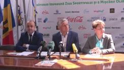 Conferință de presă dedicată evenimentului OLYMPIC FEST 2016