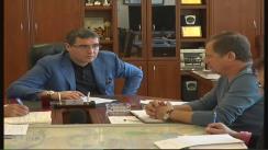 Ședința organizată de primarul municipiului Bălți, Renato Usatîi, în contextul planului de reparație a drumurilor