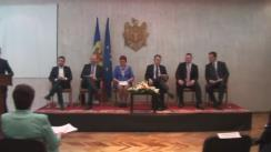"""Seminarul """"Controlul parlamentar al procesului de integrare europeană în Republica Moldova"""""""