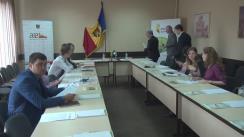 Briefing susținut de directorul AEE, Mihail Stratan, de prezentare a rezultatelor programului de subvenționare a cazanelor pe biomasă