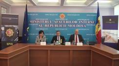 """Briefing de presă privind lansarea proiectului pilot """"Etică și integritate organizațională în cadrul Ministerului Afacerilor Interne"""""""