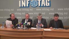 """Conferință de presă organizată de UniAgroProtect, Asociațiile Agroinform și Moldova-Fruct, Federația Națională a Fermierilor din Moldova cu tema """"Situația privind înghețarea culturilor agricole în nordul Moldovei"""""""